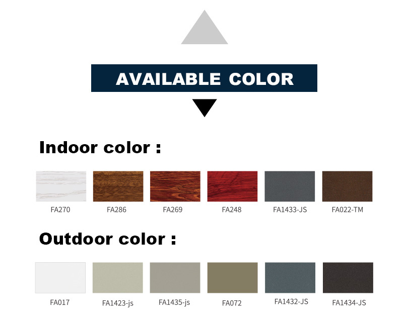 Folding Door Colors
